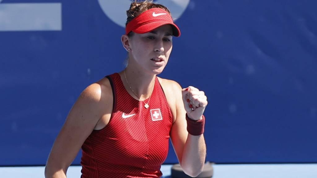 Belinda Bencic läuft es in Tokio vorzüglich - was nach einer sehr durchzogenen Saison nicht erwartet werden durfte