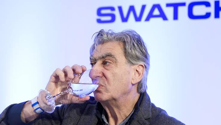 Swatch-Chef Nick Hayek erhielt 2018 ein Gehalt von gut 7 Millionen Franken. (Archivbild)