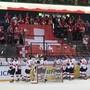 Die Schweizer U18-Nationalmannschaft wird von den Fans verabschiedet