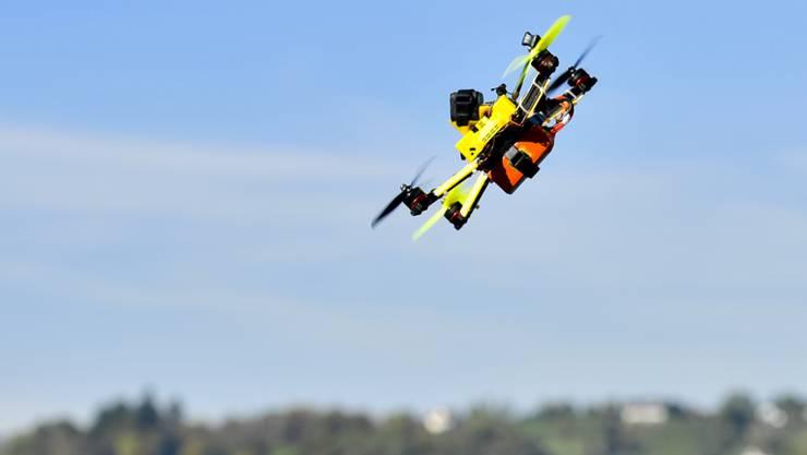 Bald sollen Drohnen auch über Wohlen fliegen. (Symbolbild)