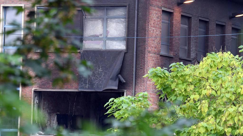 Der Schaden am Gebäude ist gross.