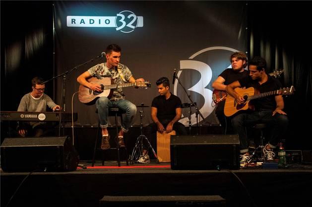Am Showcase bei Radio 32 stand jeden Tag ein anderer Act auf der Bühne.