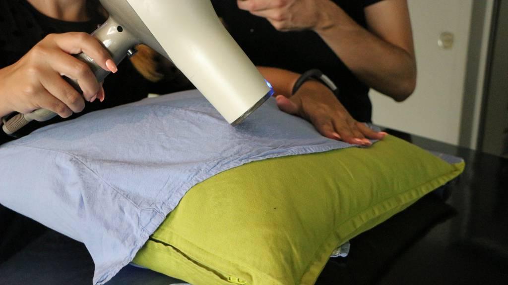 Hemden bügeln ohne Bügeleisen