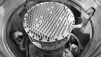 1959 wird der Reaktor «Diorit» im Eidgenössischen Institut für Reaktorforschung eingebaut. Die 20 Kilogramm Plutonium stammen aus dessen Brennstäben.