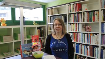 Katrin Ursenbacher muss ihren Traum vom Buchladen bald begraben.NPF
