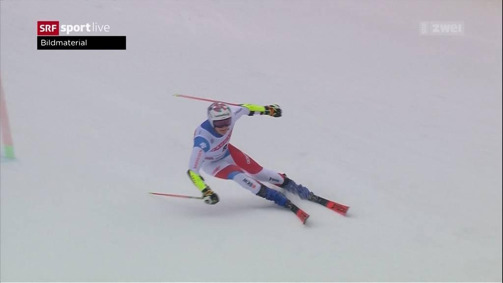 Marco Odermatt verpasst knapp das Podest