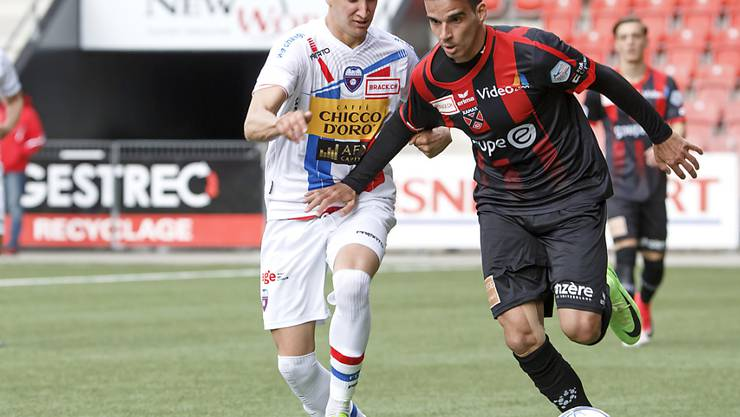 Andrea Padula (links), hier noch für den FC Chiasso spielend