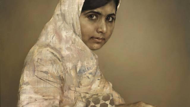 Teure Kunst: Malala Yousafzai gemalt von Jonathan Yeo