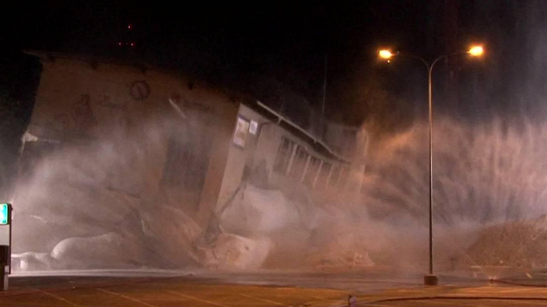 SBB sprengen in Olten Gebäude in die Luft