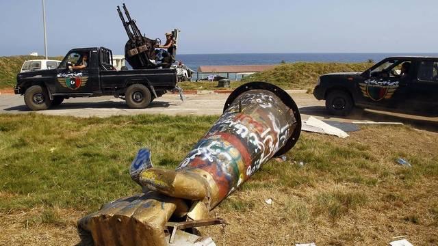 Auch die libyschen Rebellen waren bei der Eroberung des Landes nicht zimperlich (Archiv)