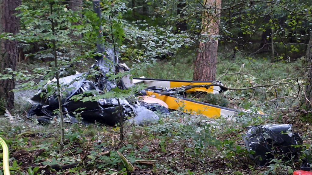 Drei Tote bei Hubschrauberabsturz - «Das Trümmerfeld ist riesig»