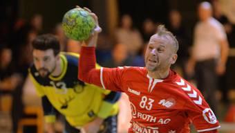 Sandro Sieber steuerte zwei Treffer für den Punktgewinn des TV Solothurn bei.