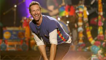 Neue Liebe, neues Leben, neues Album: Coldplay-Frontmann Chris Martin. Keystone