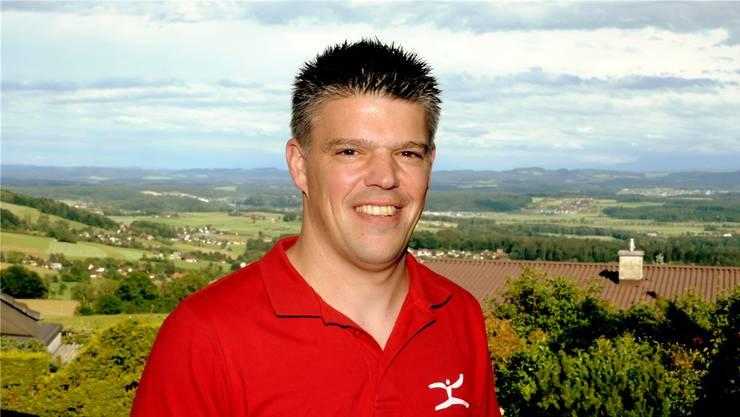 Von seinem Freisitz in Balm bei Günsberg kann Christian Sutter den Grossteil seines Verbandsgebietes überblicken.