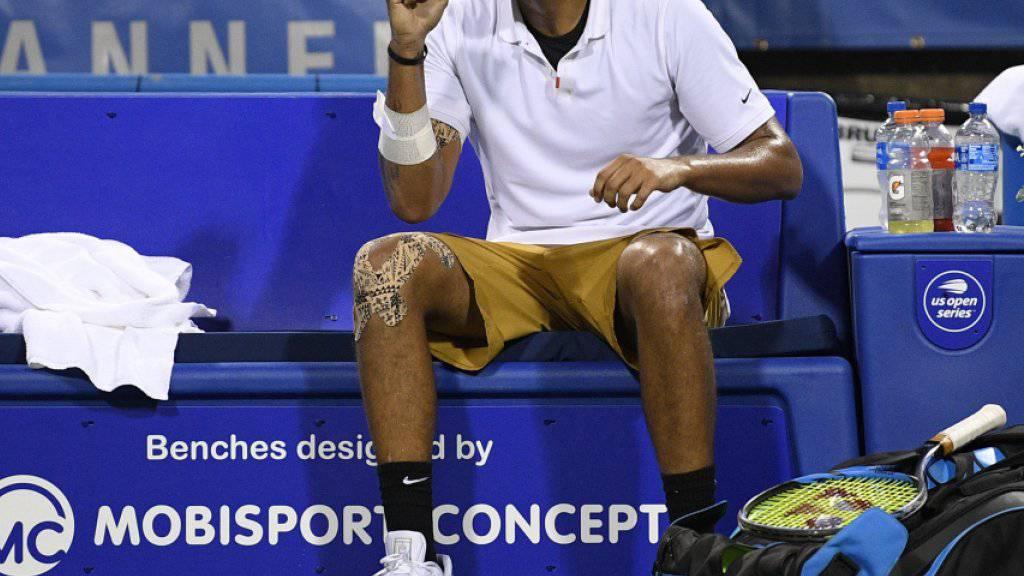 Das Enfant terrible des Tennissports wird in Genf antreten: Nick Kyrgios tritt am Laver Cup für das Team World an