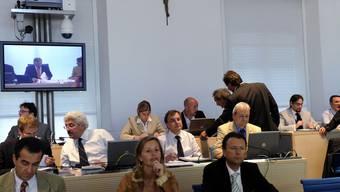 Blick ins Kantonsparlament in Bellinzona (Archiv)