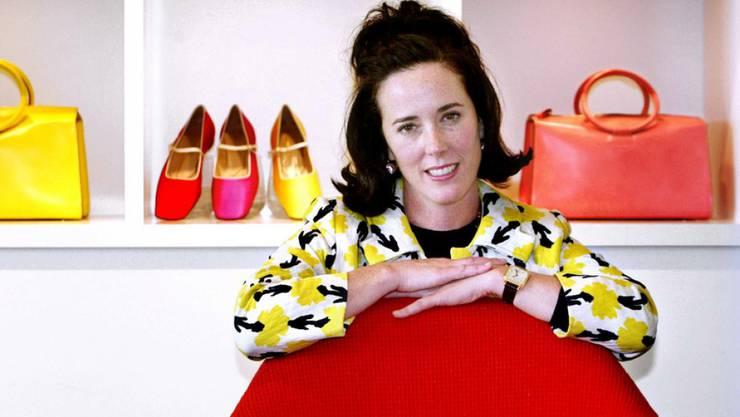 Abschied von Kate Spade: Die US-Designerin ist zwei Wochen nach ihrem Suizid in ihrer Heimatstadt Kansas City beigesetzt worden. (Archivbild)