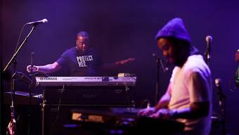 R+R=Now, das neue Bandprojekt zwischen Hip-Hop und Jazz mit Robert Glasper und Terrace Martin (rechts). Daniel Balmat