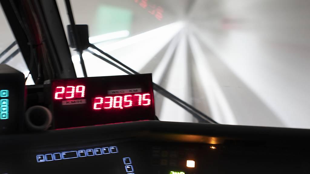 Inbetriebnahme des Ceneri-Basistunnels prägt den Fahrplanwechsel