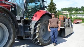 Wie Bauer Reto Furter aus Dottikon mit seinem Traktor nach Slowenien fuhr und mit einem zweiten nach Hause kam