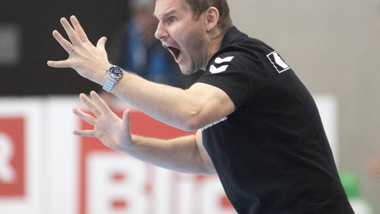 Viel Spannung, aber ein gutes Ende für Kadetten Schaffhausen und Trainer Petr Hrachovec