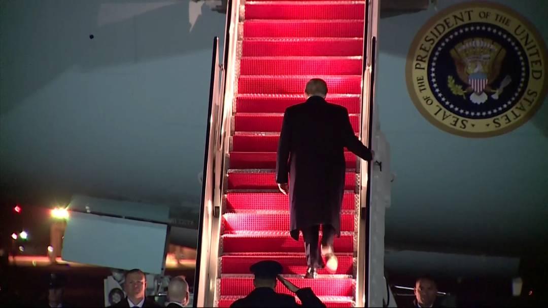 Trump ist unterwegs in die Schweiz