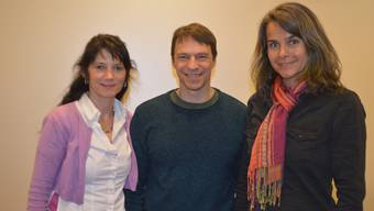Der Vorstand: Heidi Langenkamp, Paul Langenkamp (Präsident), Ivona Gisiger (vlnr)