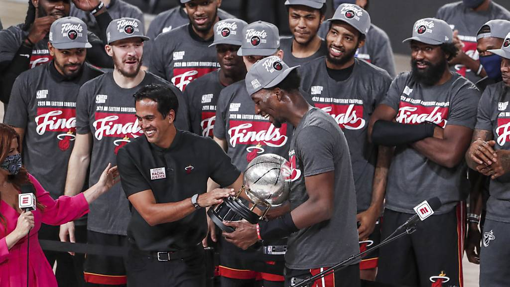 Miami Heat in der Finalserie der NBA