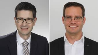 Roger Erdin und Michael Widmer