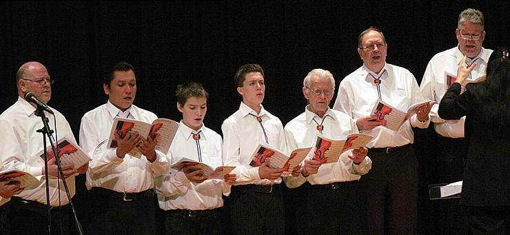 Von 14 bis 81: Die Altersunterschiede beim Männerchor Frohsinn sind gross