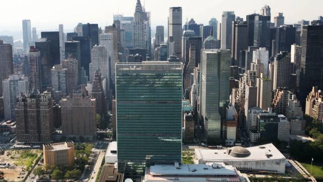 UNO-Hauptsitz in New York (Archivbild)