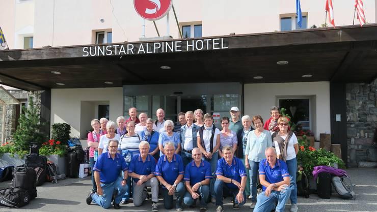Gruppenbild vor der Heimreise