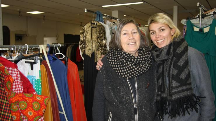 Brigitte Wehrli und Stefanie Kräuchi-Wehrli betreiben bis im März im Landi- Gebäude ihren Pop-up-Store.