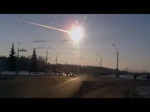 Am 15. Februar schlug ein Meteorit in Tscheljabinsk ein
