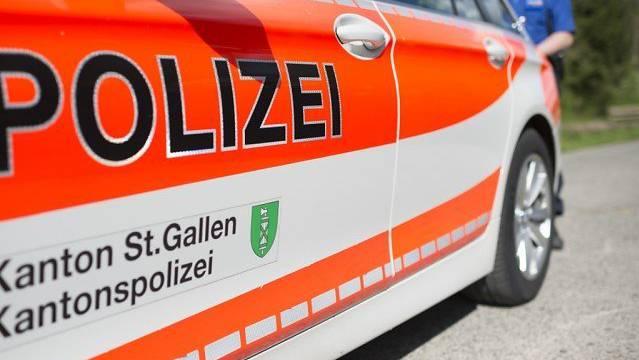 Kantonspolizei St.Gallen (Symbolbild)