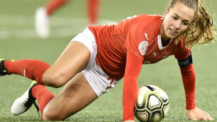 Für Captain Lia Wälti und das Schweizer Nationalteam heisst es am Dienstag gegen Belgien: verlieren verboten