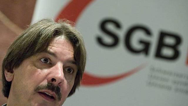 SGB-Präsident Paul Rechsteiner