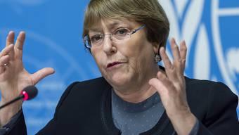 Die Uno-Hochkommissarin für Menschenrechte, Michelle Bachelet, ist sehr enttäuscht von den Ländern, die den Uno-Migrationspakt ablehnen oder infrage stellen.
