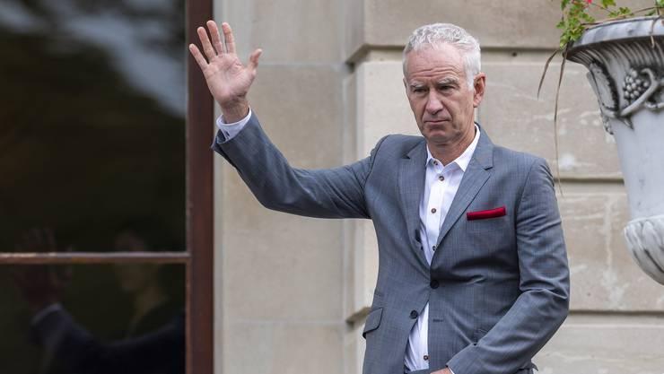 John McEnroe möchte mit Team World endlich Europa bezwingen (Bild: Keystone).
