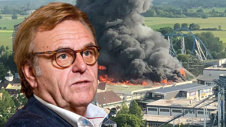 EuropaPark-Gründer Roland Mack spricht erstmals über den Brand im Vergnügungspark.