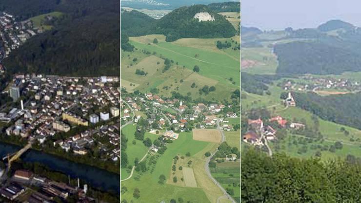 Fusionsprojekt: Trimbach, Wisen und Hauenstein-Ifenthal wollen mit Olten fusionieren.