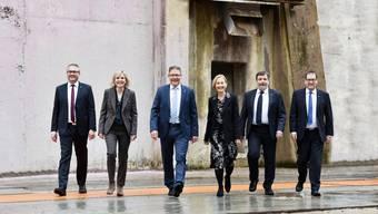 Das offizielle Bild des Solothurner Regierungsrates 2019.