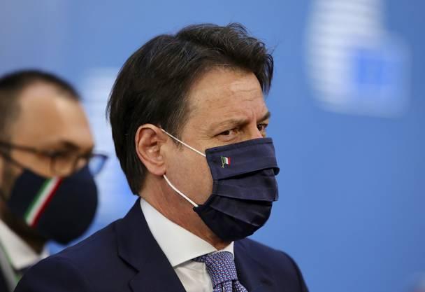 «Die frugalen Vier erpressen Europa», sagt Italiens Premierminister Giuseppe Conte.