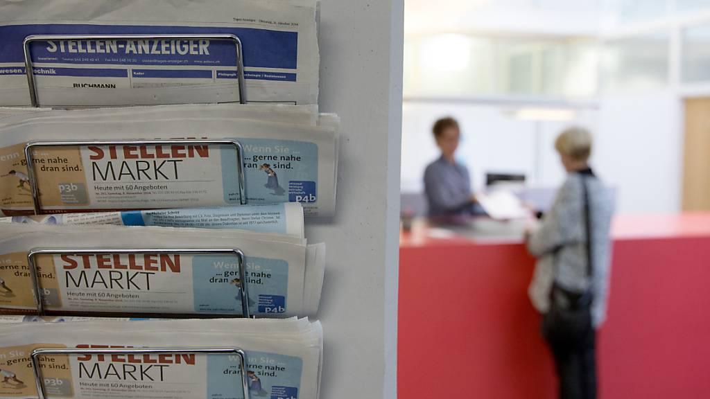 Schweizer Stellenmarkt erreicht Vor-Corona-Niveau
