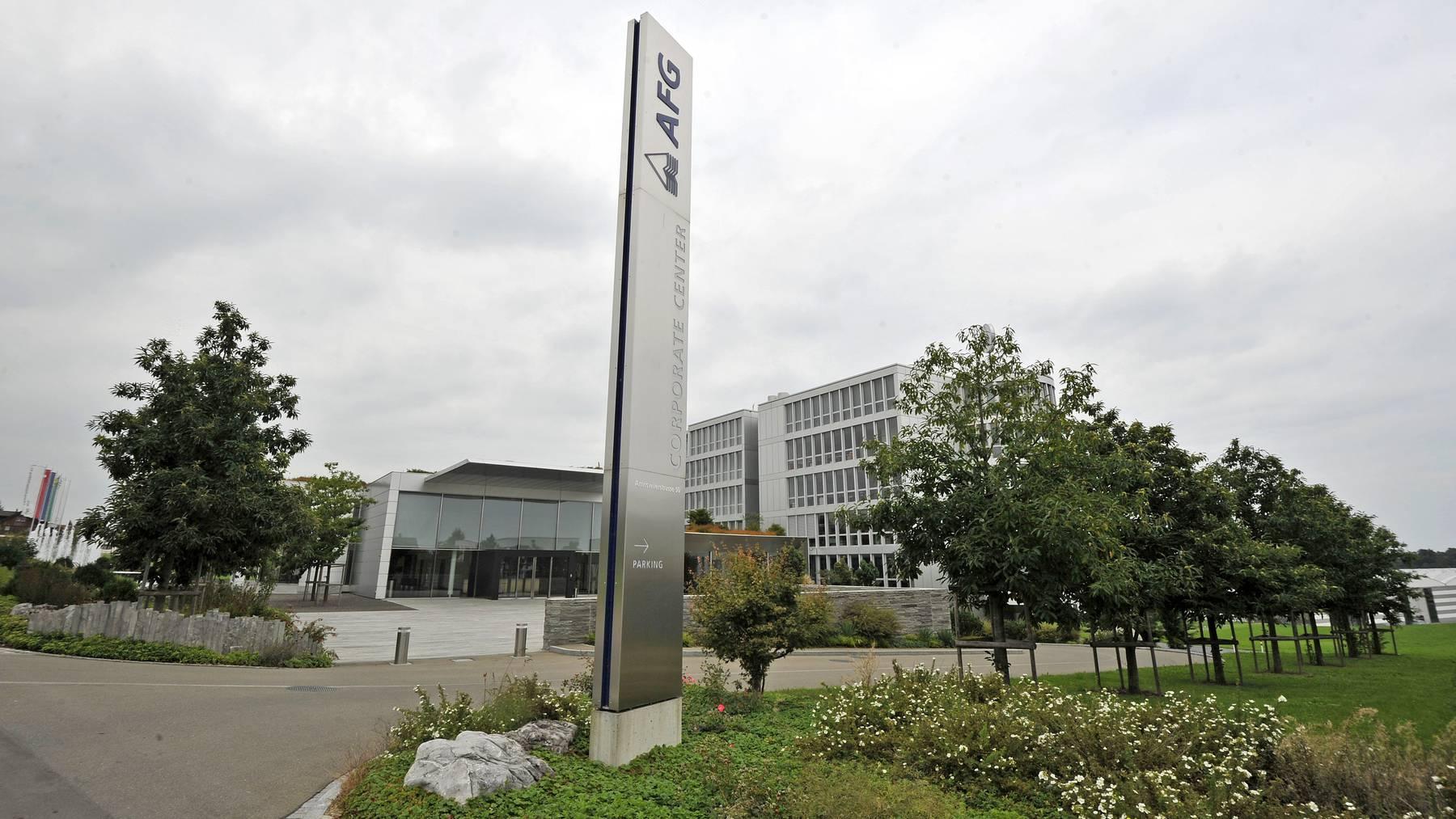 Der Hauptsitz der Arbonia in Arbon.