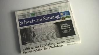 Die »Schweiz am Sonntag» konnte heute nicht ausgeliefert werden.