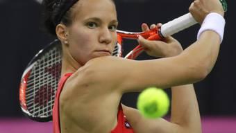 Viktorija Golubic kommt in diesem Jahr nicht recht voran