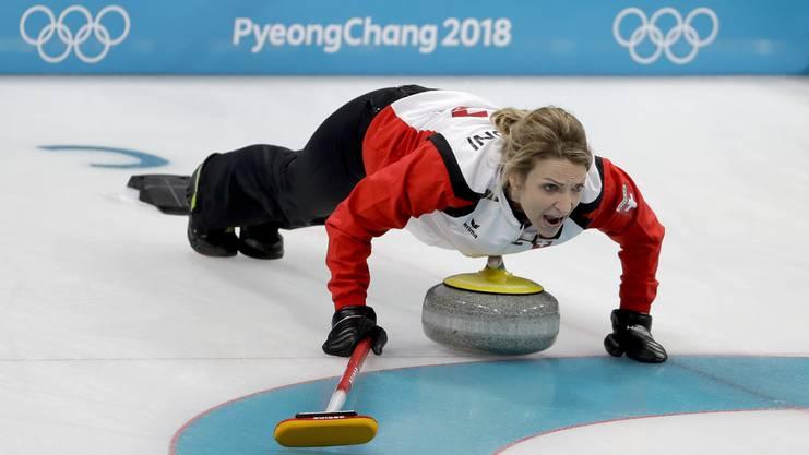 Sieht sich auch noch an den nächsten Olympischen Winterspiele: Die 40-jährige Silvana Tirinzoni.