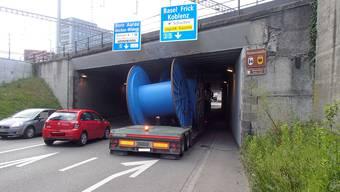 Brückencrash in Brugg