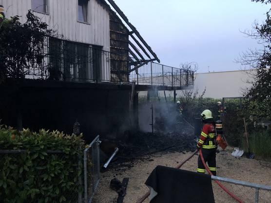 Warum es zum Brand kam, ist noch unklar.